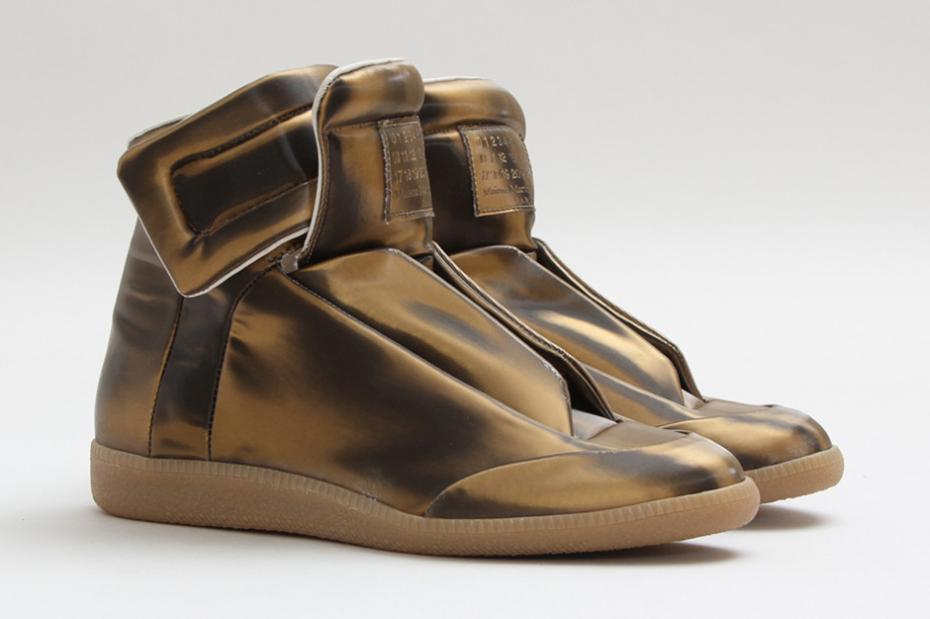 Maison Martin Margiela бронзовые кроссовки