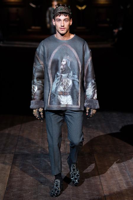 DOL_0061.450x675 Показ коллекции мужской одежды дольче габбана (dolce gabbana) 2014 фото