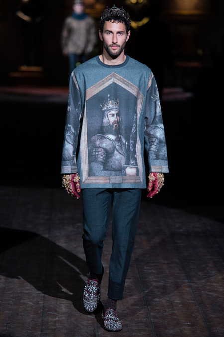 DOL_0096.450x675 Показ коллекции мужской одежды дольче габбана (dolce gabbana) 2014 фото