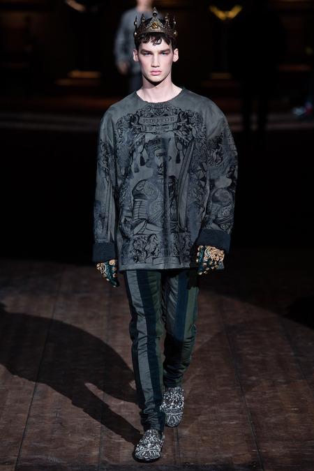 DOL_0133.450x675 Показ коллекции мужской одежды дольче габбана (dolce gabbana) 2014 фото