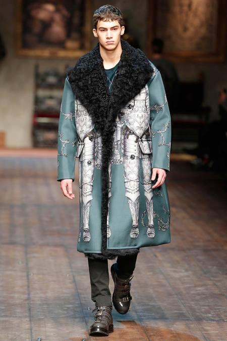 DOL_0167.450x675 Показ коллекции мужской одежды дольче габбана (dolce gabbana) 2014 фото