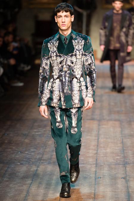 DOL_0204.450x675 Показ коллекции мужской одежды дольче габбана (dolce gabbana) 2014 фото
