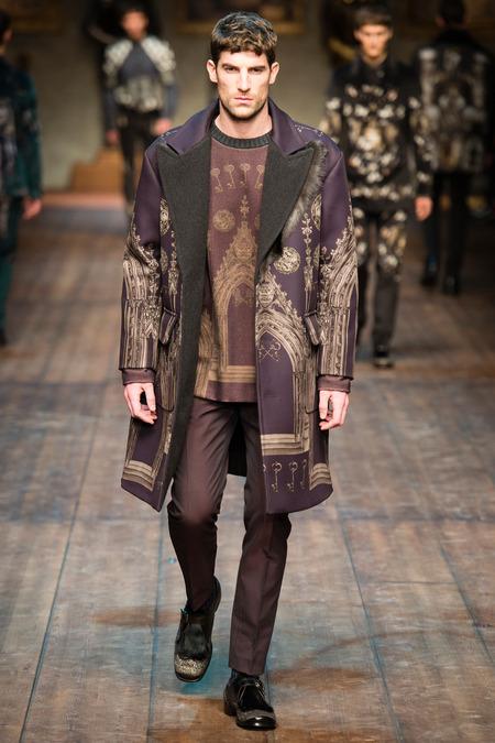 DOL_0215.450x675 Показ коллекции мужской одежды дольче габбана (dolce gabbana) 2014 фото