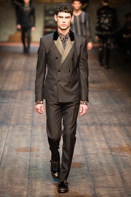 DOL_0249.450x675 Показ коллекции мужской одежды дольче габбана (dolce gabbana) 2014 фото
