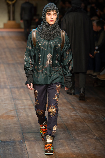 DOL_0334.450x675 Показ коллекции мужской одежды дольче габбана (dolce gabbana) 2014 фото