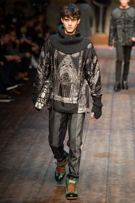 DOL_0369.450x675 Показ коллекции мужской одежды дольче габбана (dolce gabbana) 2014 фото