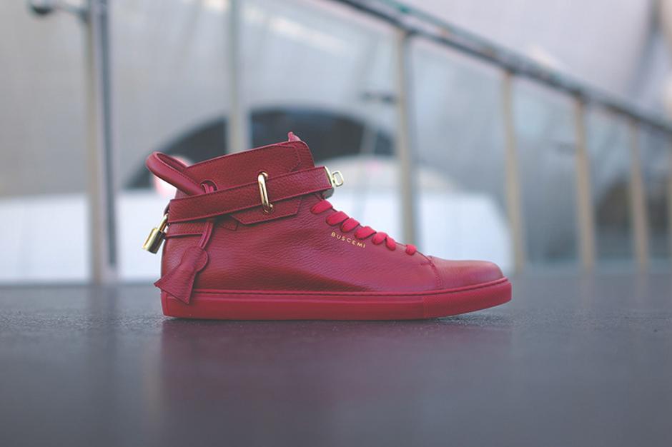 Buscemi кроссовки красные