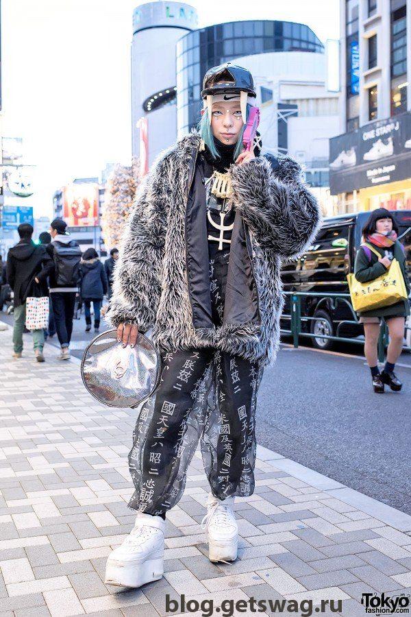 1 Японская уличная мода тренды и фото моды Японии