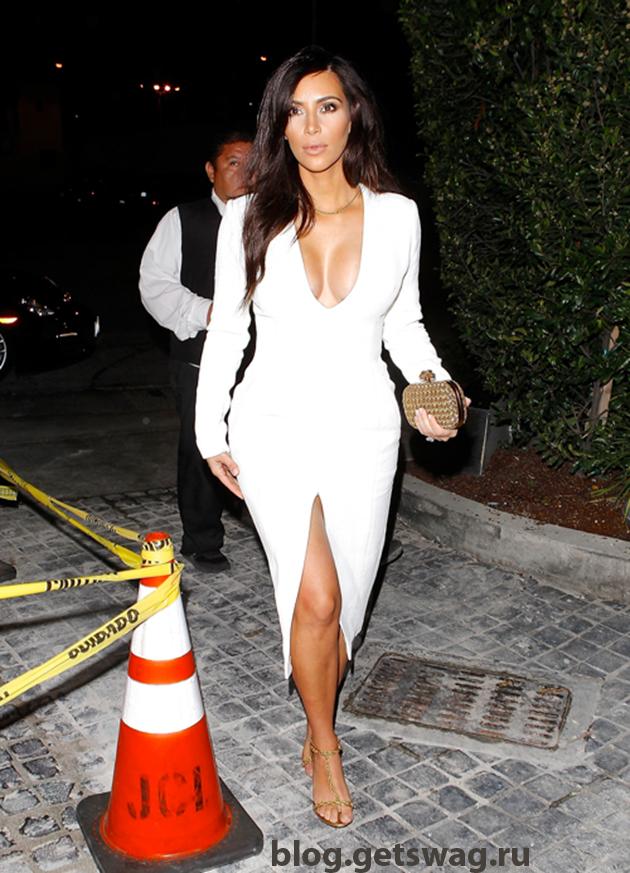 102 Уличный стиль Ким Кардашьян фото или одежда строго по фигуре!