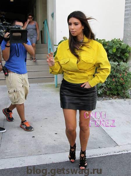 144 Уличный стиль Ким Кардашьян фото или одежда строго по фигуре!