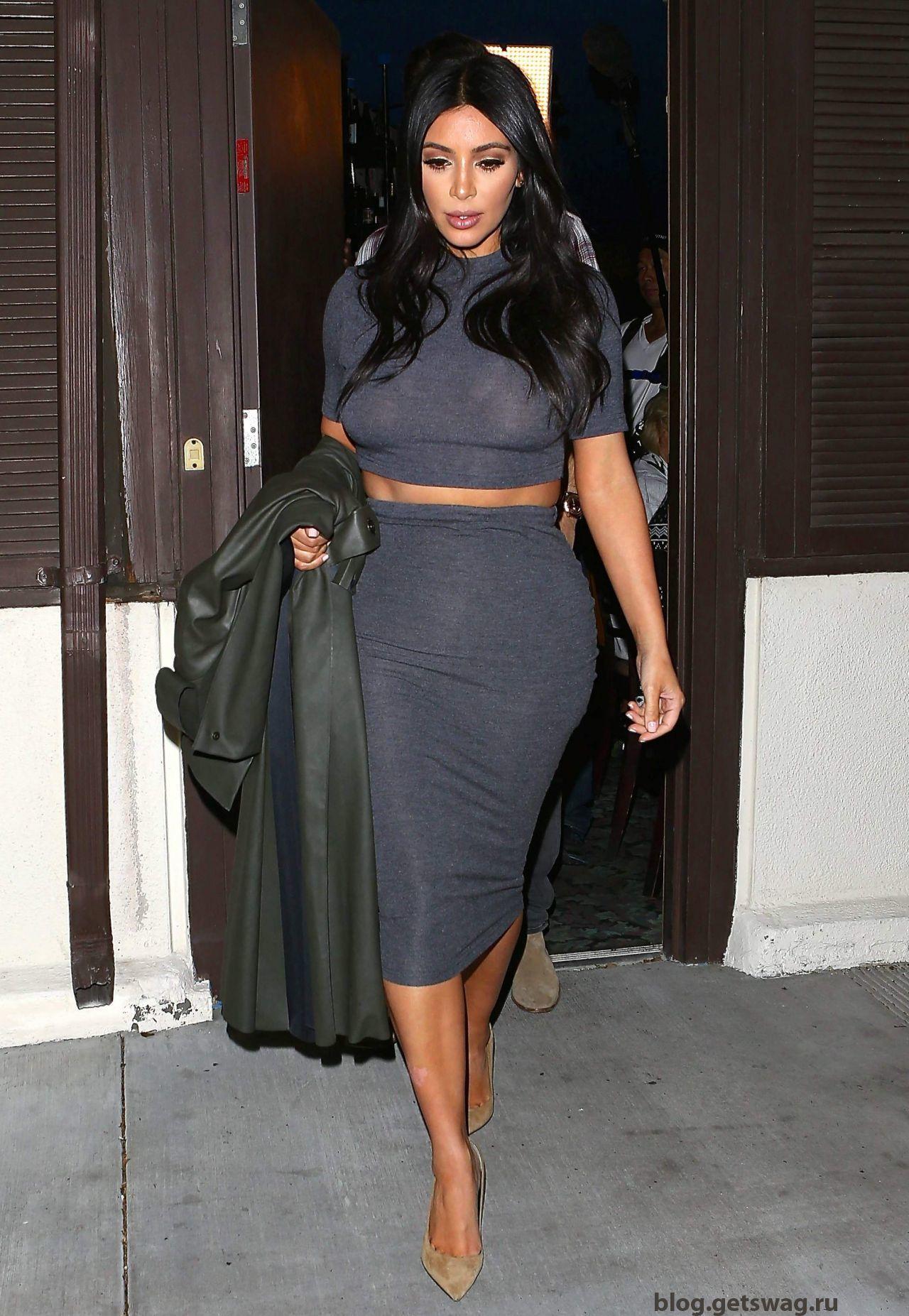 193 Уличный стиль Ким Кардашьян фото или одежда строго по фигуре!