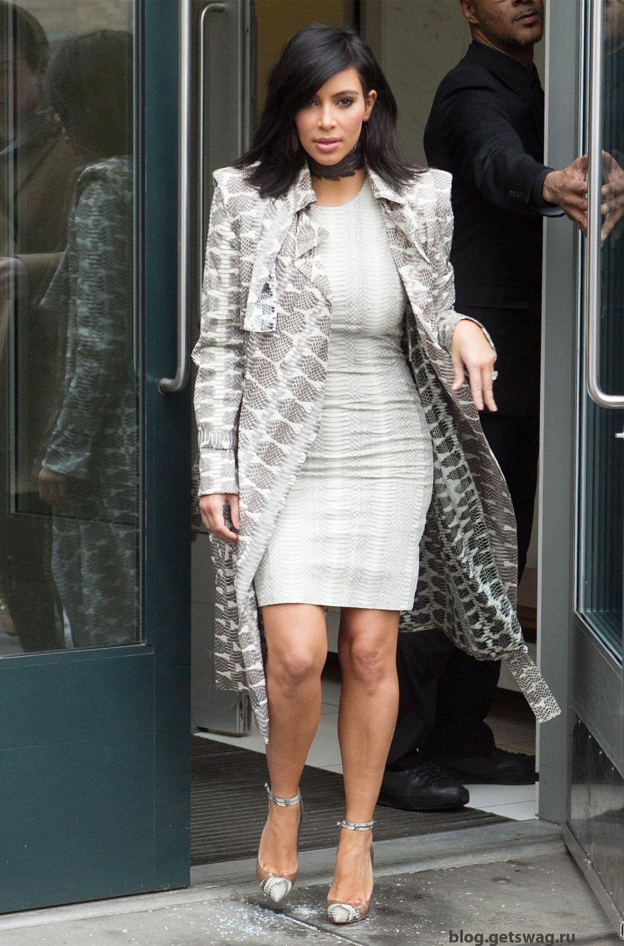 204 Уличный стиль Ким Кардашьян фото или одежда строго по фигуре!