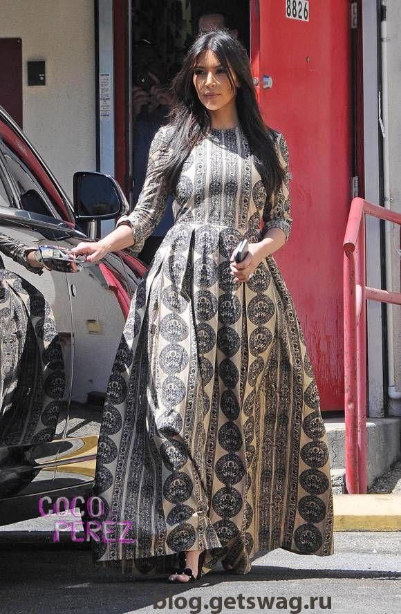 215 Уличный стиль Ким Кардашьян фото или одежда строго по фигуре!