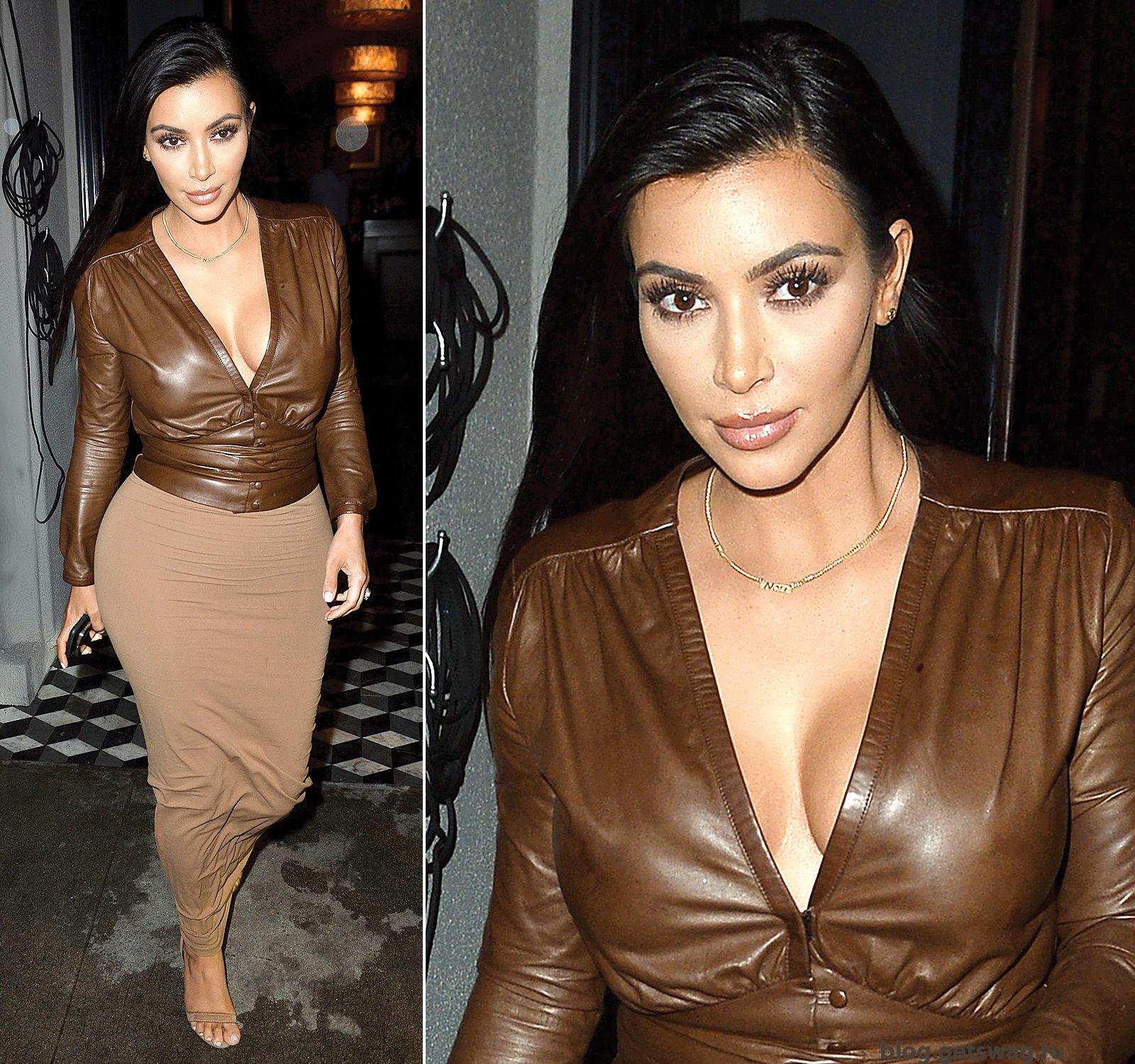414 Уличный стиль Ким Кардашьян фото или одежда строго по фигуре!