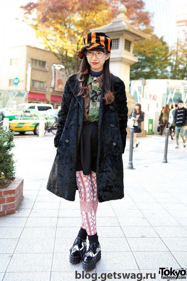 6 Японская уличная мода тренды и фото моды Японии