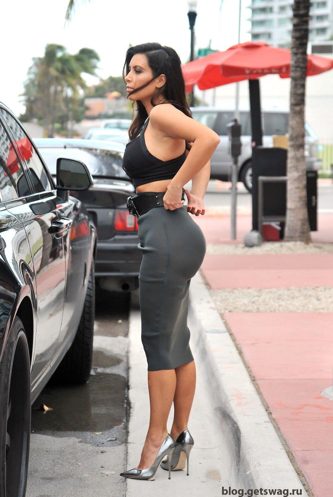 73 Уличный стиль Ким Кардашьян фото или одежда строго по фигуре!