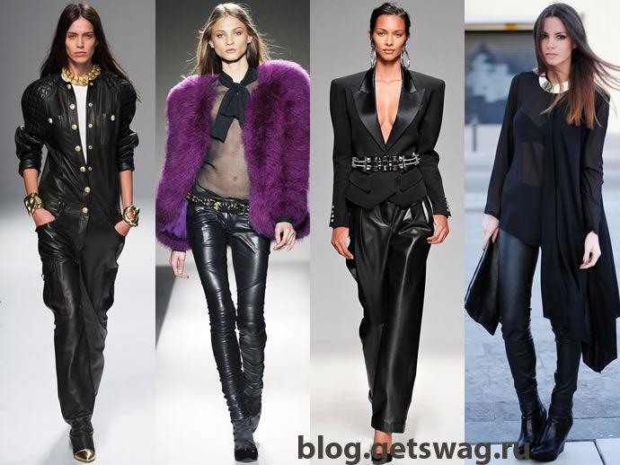 1391768972_leather_pants Ломаем стереотипы. С чем носить кожаные брюки и при этом не выглядеть брутально