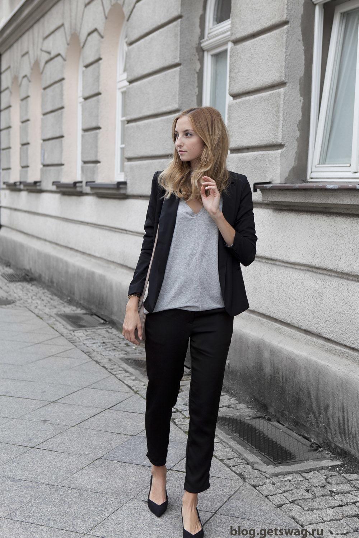 14092014 Минимализм или французский шик в одежде и образах польского блогера