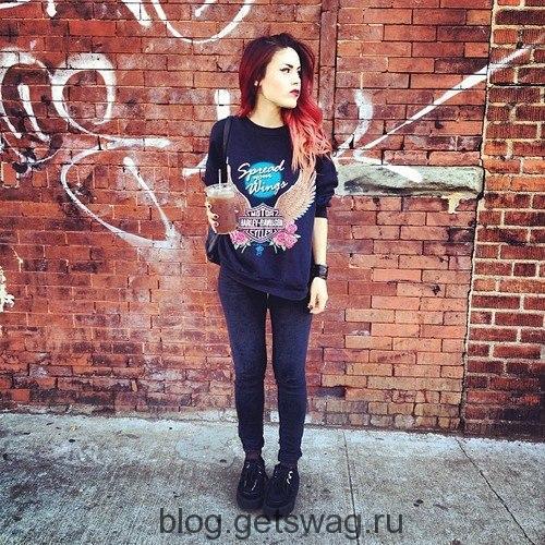 174 Lua P – мисс экстравагантность на улицах Нью-Йорка