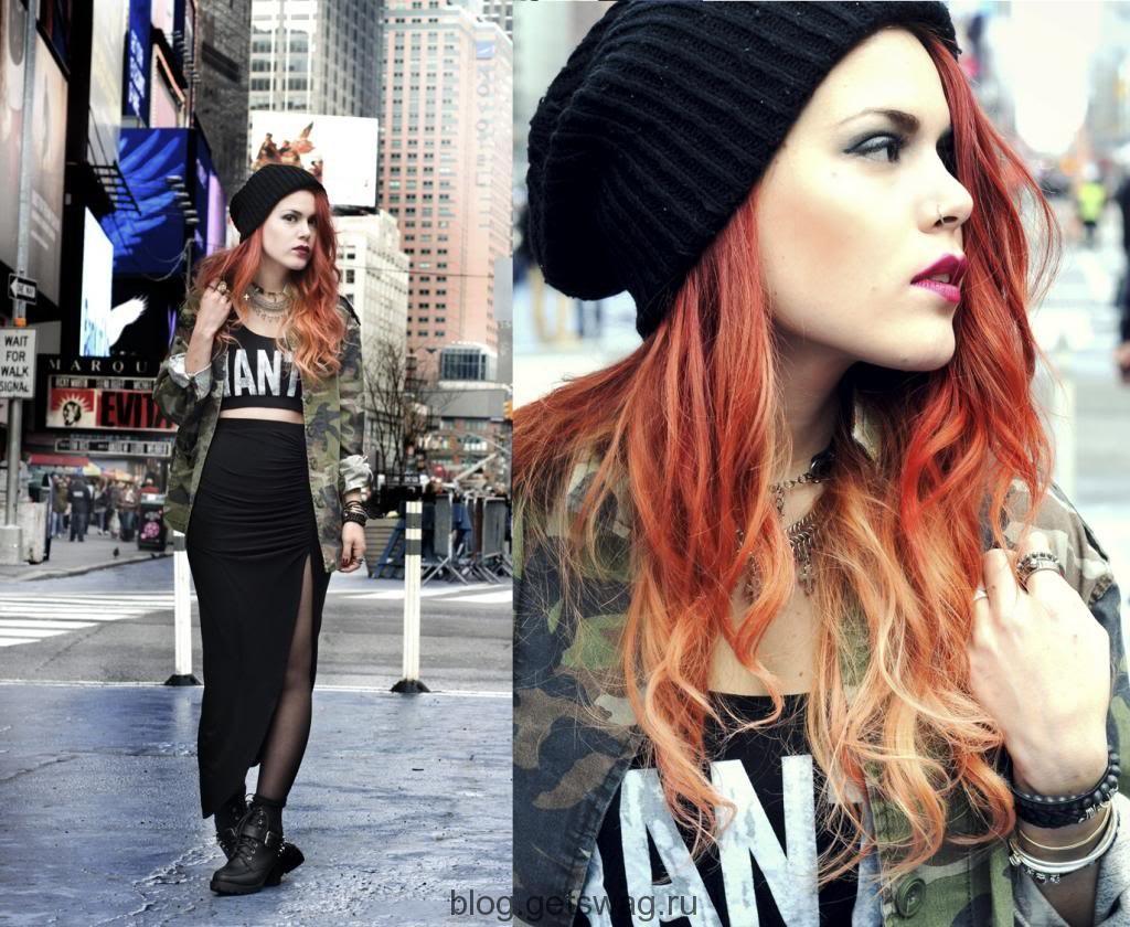 204 Lua P – мисс экстравагантность на улицах Нью-Йорка