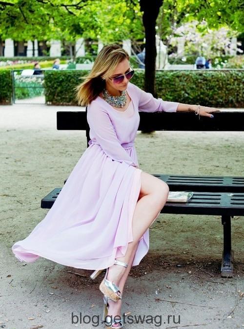 54 Цвета грядущего лета в образах уличных модниц