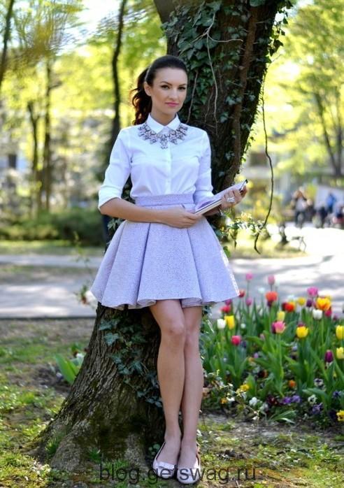 600 Цвета грядущего лета в образах уличных модниц
