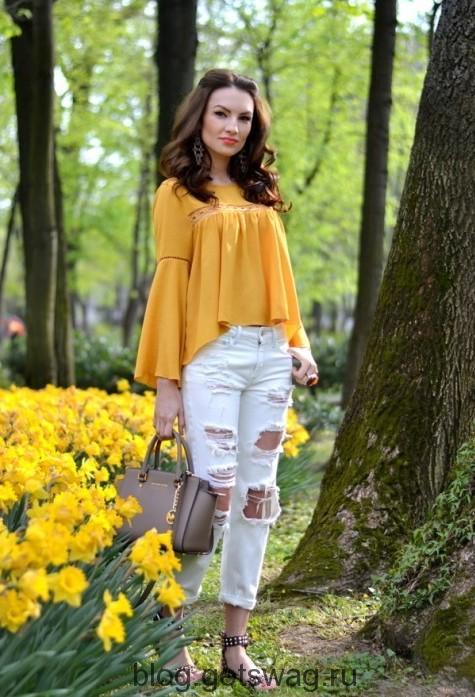 630 Цвета грядущего лета в образах уличных модниц