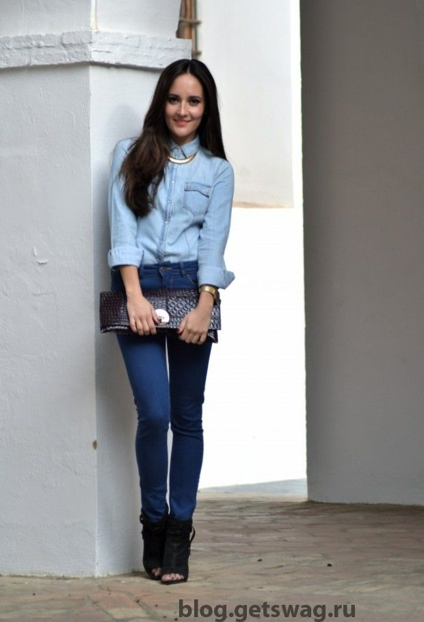 How-to-Wear-Denim-on-Denim-17-Chic-Outfit-Ideas-11-620x908 Деним без компромиссов