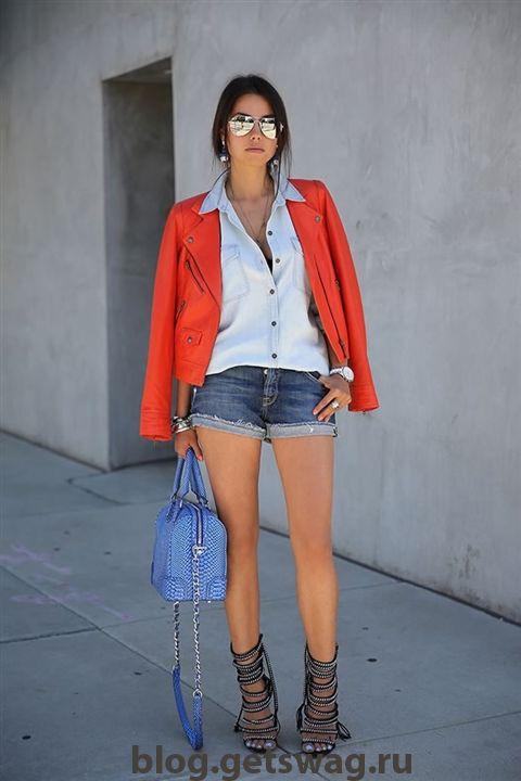 image24794 Джинсовые шорты: с чем комбинировать?