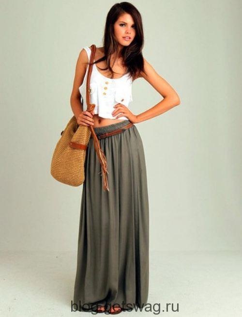 long-skirts-16 Принцессы в юбках