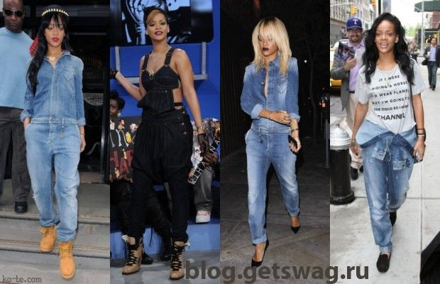 rihanna_modnye_obrazy-girl-denim-jumpsuit-620x400 Деним без компромиссов